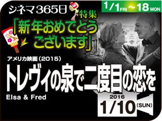 トレヴィの泉で二度目の恋を(2015年 恋愛映画)