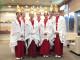 7人の福娘が「初ゑびす祭」を前に表敬訪問