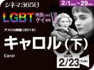 キャロル(下)(2016年 ゲイ映画)
