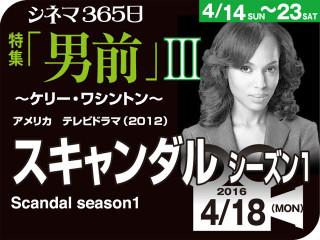 スキャンダル シーズン1(2012年 社会派映画)