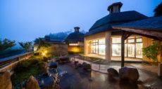 【山の湯 露天風呂】ホテルシルク温泉やまびこ