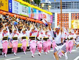 日本の祭り阿波おどり