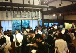 大阪狭山市の古民家レストラン「時空間くりや」で 熊本を応援する利き酒イベントが大盛況