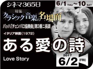 ある愛の詩(1971年 恋愛映画)