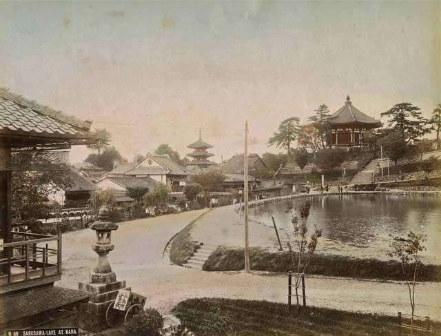 奈良市美術館「市制120周年プレイベント写真展 古都奈良の情景~明治・大正・昭和時代~ 鑑賞券」
