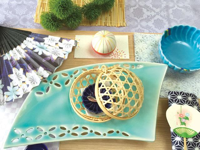 夏の食卓を爽やかに演出♪簡単テーブルコーディネート術!