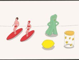 清須市はるひ美術館「特別展 イラストレーター 安西水丸 ―漂う水平線(ホリゾン)― 鑑賞券」