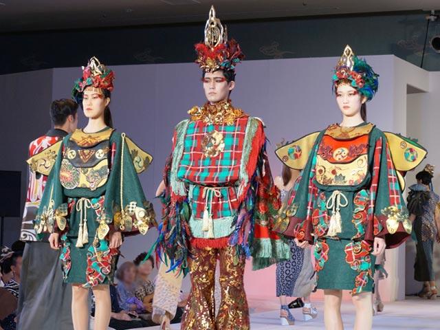 奈良の魅力を発信!奈良県×文化服装学院によるファッションショー「悠迦利(ユウカリ)」開催!