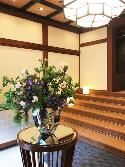 大阪城西の丸庭園内 大阪迎賓館で 迎賓ランチ会開催
