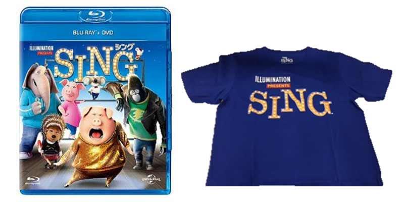 「SING/シング」DVD&ブルーレイ