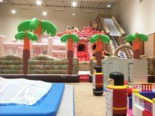 親子で遊べる!巨大エア遊具テーマパーク!!奈良健康ランドに奈良わんぱくランド「はしゃきっズ」が8月18日(金)OPEN