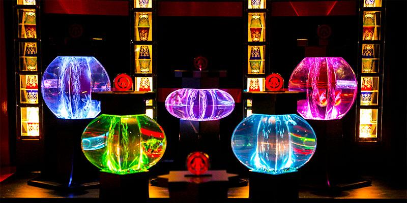 アートアクアリウム城(2014年)※過去の展覧会の様子 写真提供:Art-Aquarium