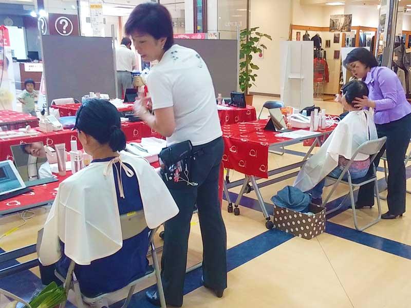 大好評のエステ体験会|富田林市 キタバ エコールロゼ店