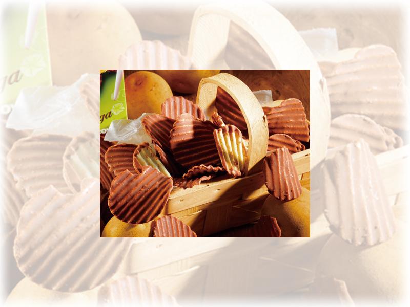 ご来場者に、ロイズの「ポテトチップチョコレート」プレゼント!