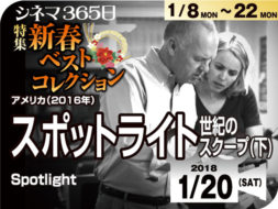 スポットライト世紀のスクープ(下)(2016年 事実に基づく映画)