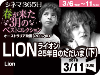 ライオン/25年目のただいま(下)(2017年 事実に基づく映画)