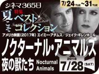 ノクターナル・アニマルズ夜の獣たち(2017年 恋愛映画)