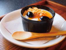 里山料理ほうらんやの「里山ぷりん」 |橿原市