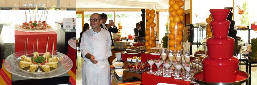 ヒルトンホテルのスペイン料理フェア 「情熱のスペイン レッド&ブラック・ビュッフェ」