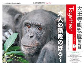 天王寺動物園情報誌 Together 2015年12月18日号