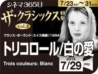 トリコロール/白の愛(1994年 社会派映画)