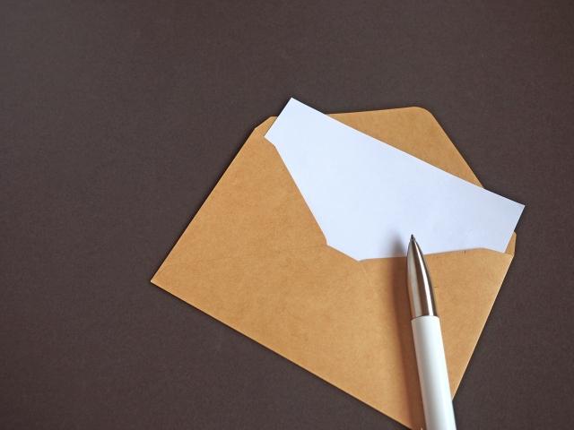 手紙の書き方 番外編 手紙の折り方封筒への入れ方 女を楽しく