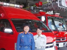 私達の街を守ってくれる 富田林消防本部で活躍する2人の女性職員