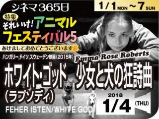 ホワイト・ゴッド少女と犬の狂想曲(2015年 動物映画)