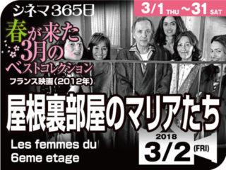 屋根裏部屋のマリアたち(2012年 恋愛映画)