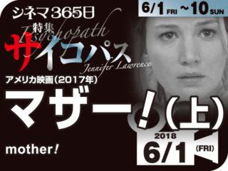 マザー!(上)(2017年 ホラー映画)