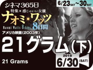 21g(下)(2004年 ヒューマン映画)