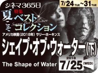 シェイプ・オブ・ウォーター(下)(2018年 ファンタジー映画)