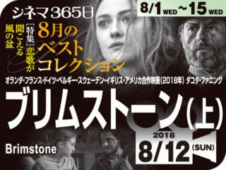 ブリムストーン(上)(2018年 社会派映画)