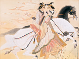 京都府立堂本印象美術館 企画展「漆軒と印象 明治生まれの堂本兄弟・うるしと日本画の競演」鑑賞券 5組10名様にプレゼント(500円相当)