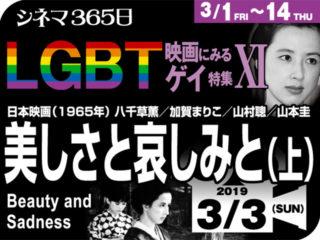 美しさと哀しみと(上)(1965年 ゲイ映画)
