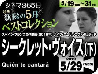 シークレット・ヴォイス(下)(2019年 ミステリー映画)