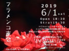 「フラメンコ夜会」 in 6月1日(土) 姫路、「Jazz&Dining Bar George Adams &Jaleo」にて開催