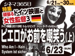 Who Am I ピエロがお前を嘲笑う(上)(2015年 犯罪映画)