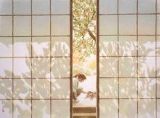 笹倉鉄平ちいさな絵画館「『なつかしい思い出のような情景~画家のひと言を添えて~』鑑賞券 ポストカード付き」(300円相当)5組10名様にプレゼント