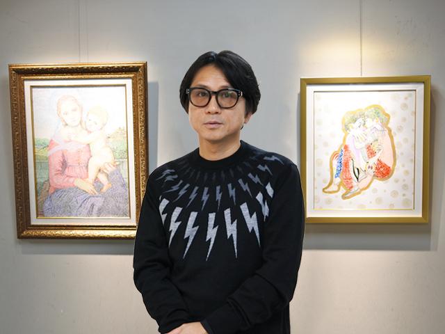 藤井フミヤさん インタビュー/創造力×想像力が生み出す、新たなアートの世界