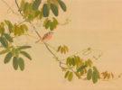 西山芳園筆「花鳥図」村山コレクション(後期)
