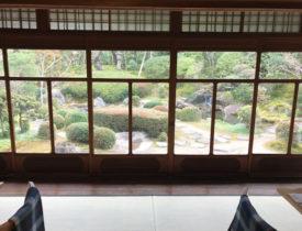 京料理と優美な庭園に105人の読者が心を奪われた京都・桜鶴苑の食事会