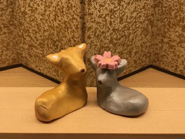 23名の読者が童心に返って楽しんだ、奈良・春日野窯の雌雄鹿絵付けとランチ会