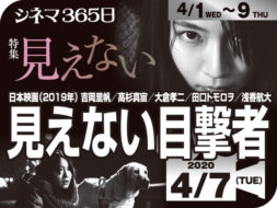 見えない目撃者(2019年 サスペンス映画)