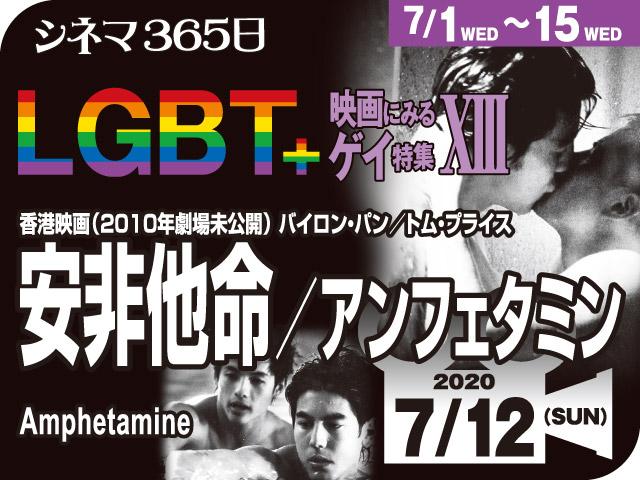 安非他命/アンフェタミン(2010年 LGBT映画、劇場未公開)