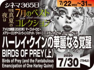 ハーレイ・クインの華麗なる覚醒/BIRDS OF PREY(上)(2020年 アクション・コメディ映画)