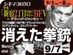 消えた拳銃(1967年 ミステリー映画)