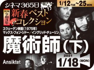 魔術師(下)(1975年 社会派映画)