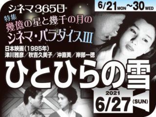 ひとひらの雪 (1985年 恋愛映画)