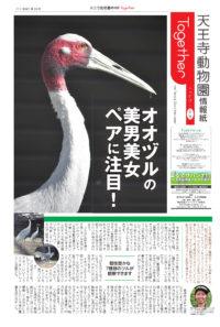 天王寺動物園情報誌 Together(トゥゲザー) 2021年10月15日号